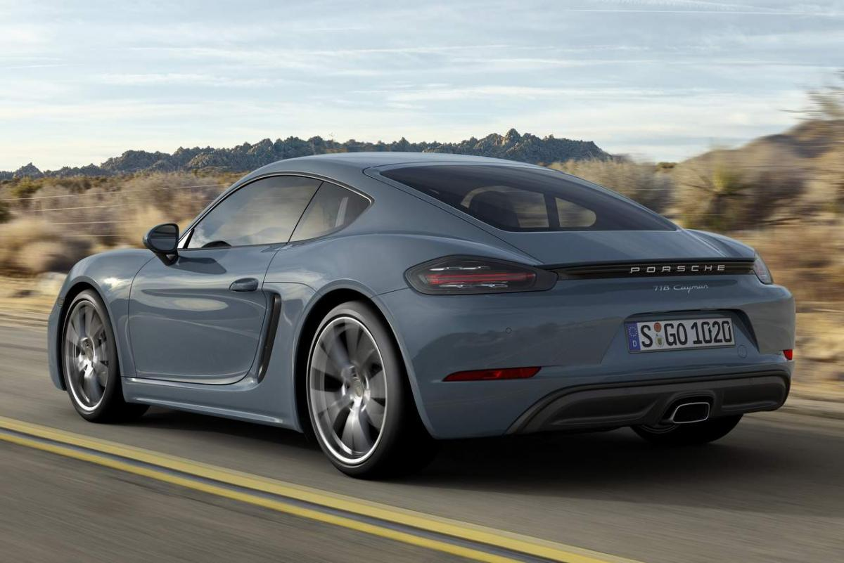 Check out: 2017 Porsche 718 Cayman sport coupe specifications