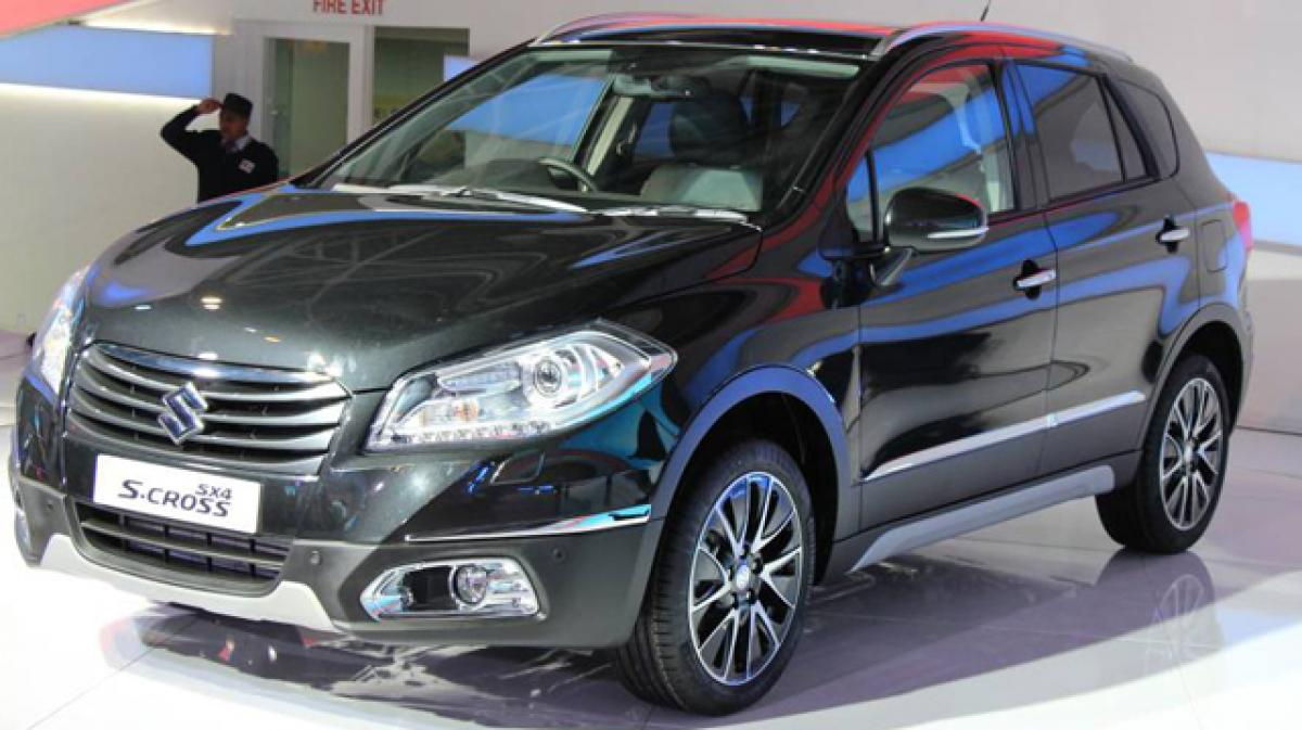 Suzuki S-Cross bookings commence in India for `25,000/-
