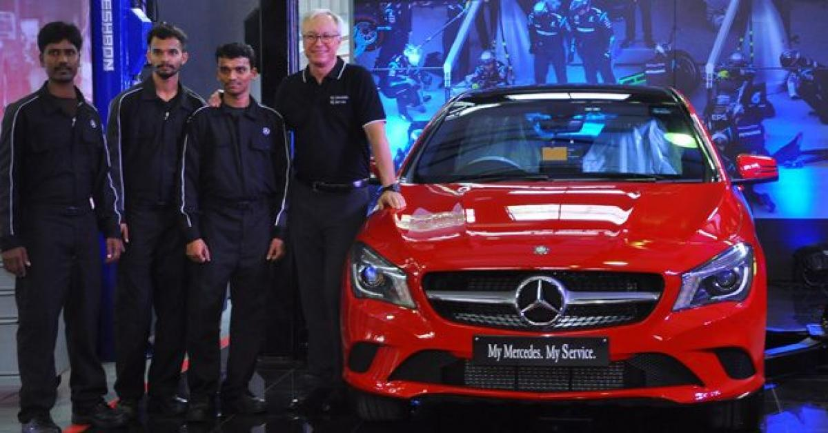 Mercedes-Benz Launches My Mercedes-My Service Programme