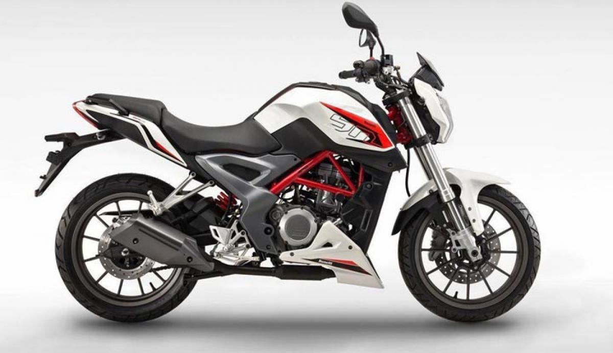 Benelli TNT 25 unveiled