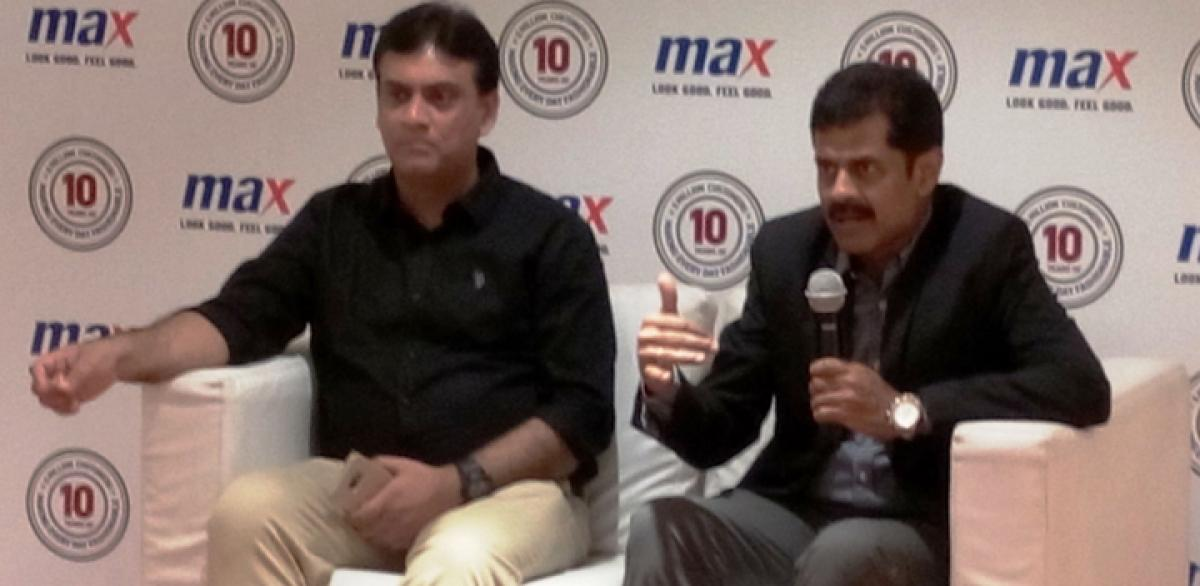 Max Fashion plans 8 outlets in AP, TS