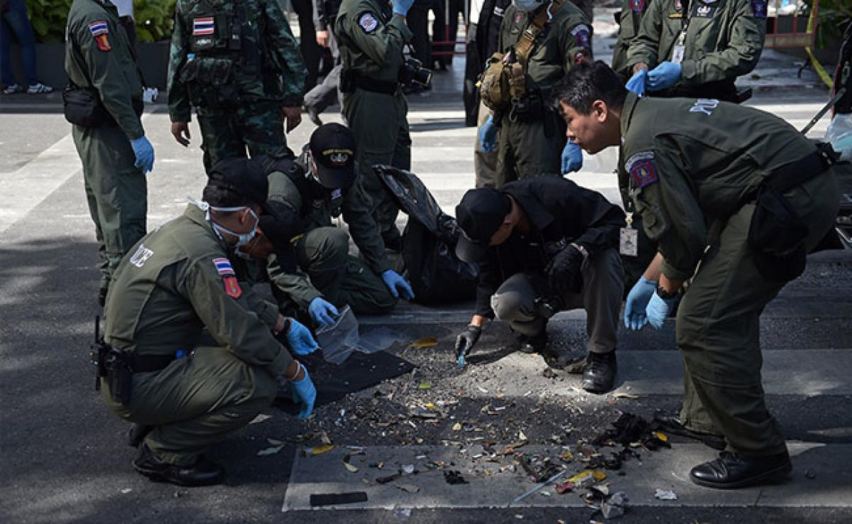 Thai police finds bomb making material at Bangkok apartment