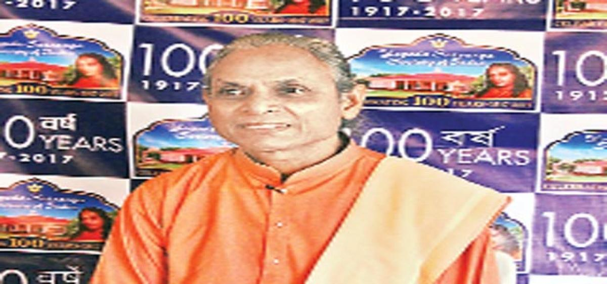 Centenary celebrations of  Yogoda Satsanga Society of India