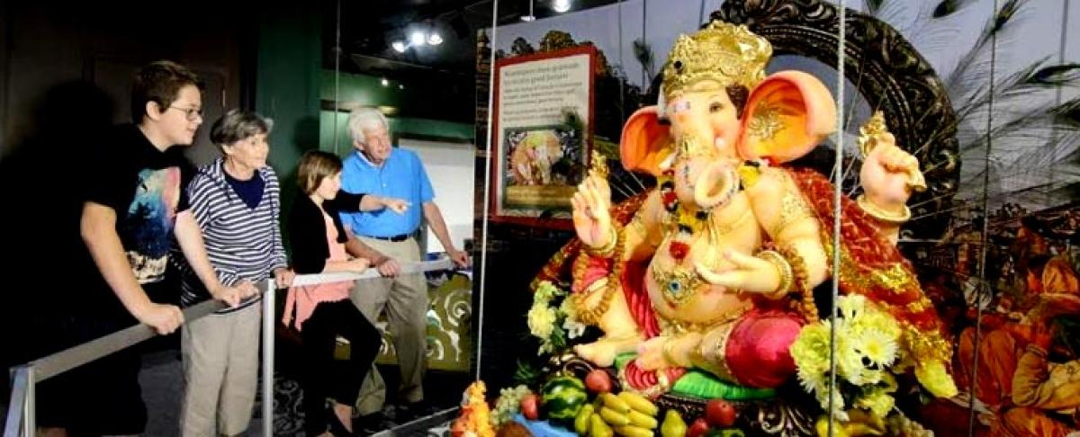 Lord Ganesha exhibit touring 5 British museums