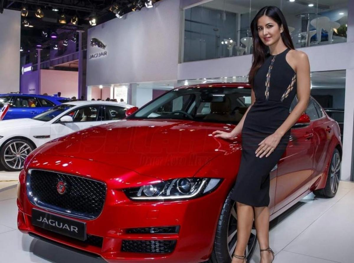 Katrina Kaif attends Jaguar XE launch at 2016 Auto Expo