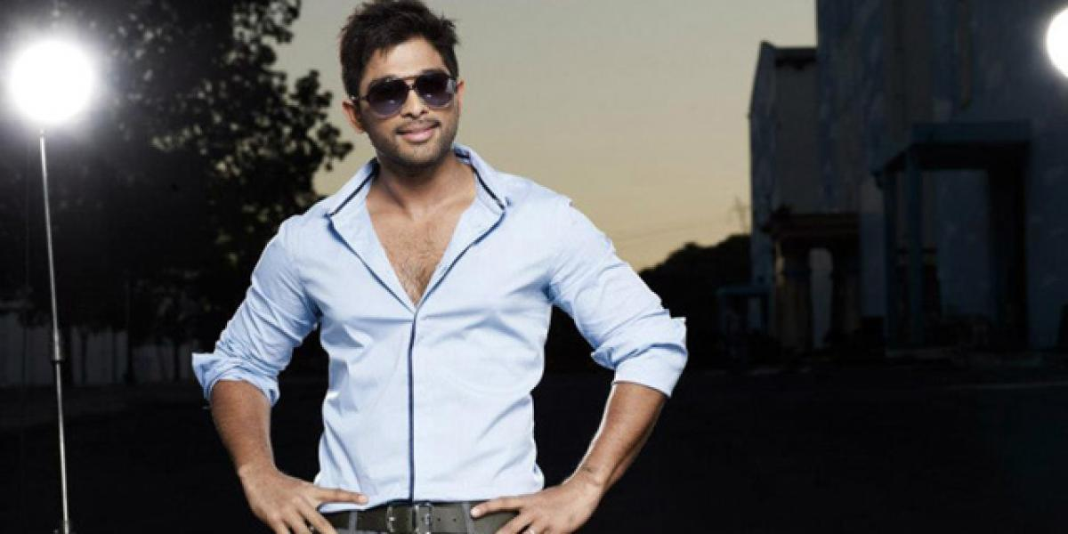 Allu Arjuns Sarainodu first look to be out soon