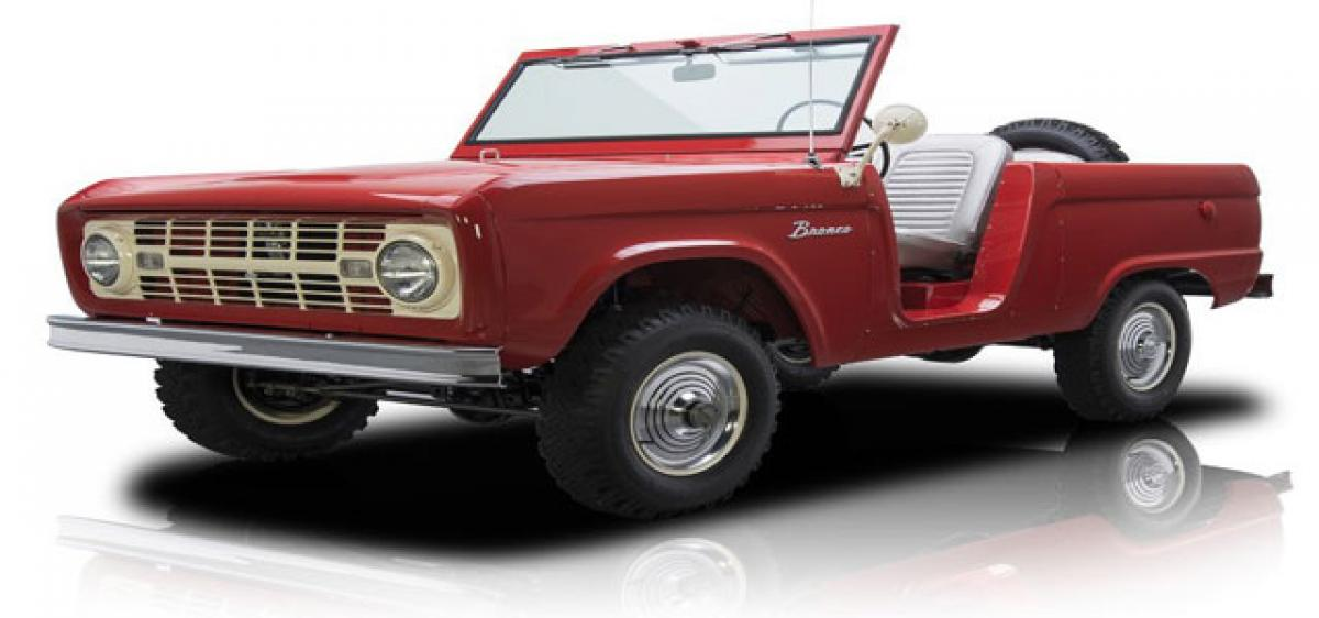 Ford SUV heritage dates back to 1966, completes 50 years