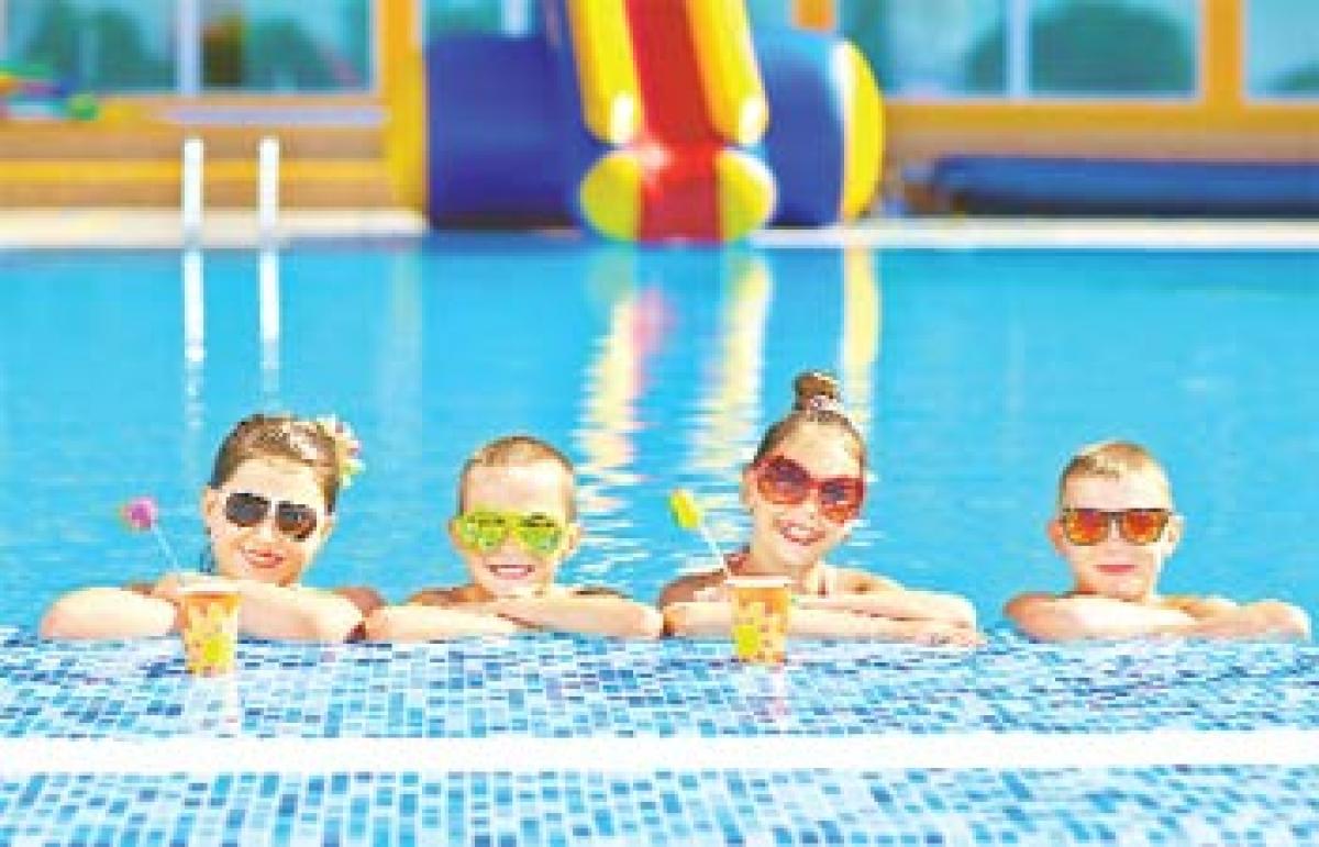 Splash away the heat with breezy pool parties