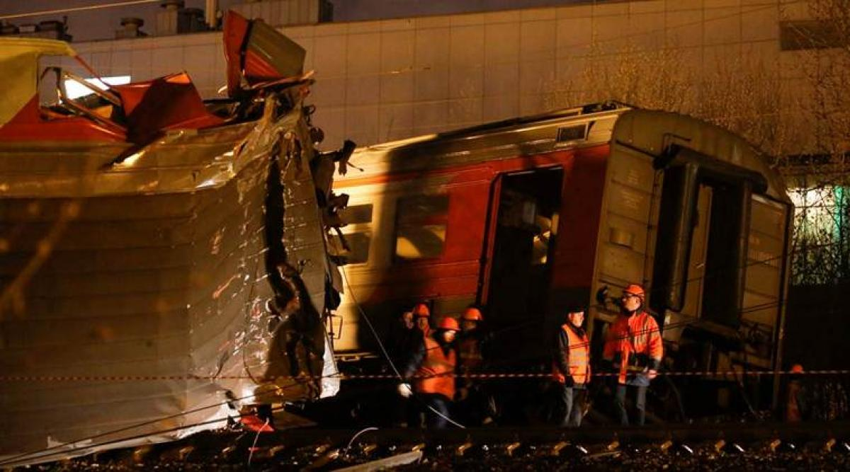 50 injured in Moscow train accident