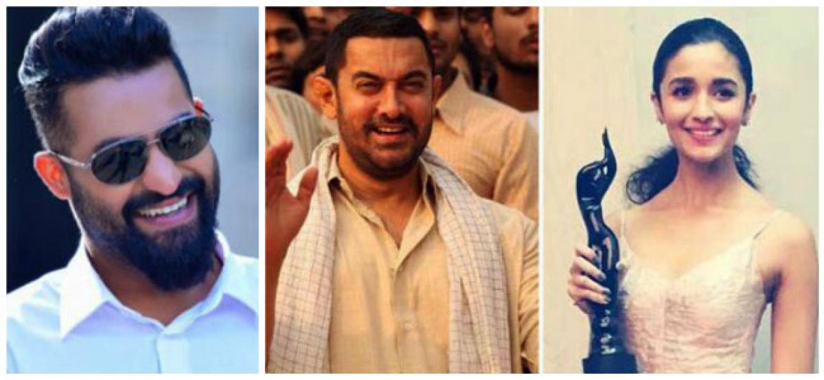 Aamir, Alia, Dhanush win inaugural Shankarabharanam Awards