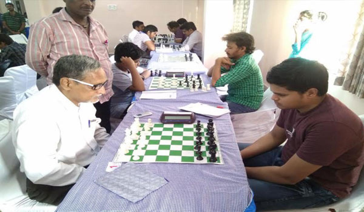West Godavari's Baswanth is sole leader