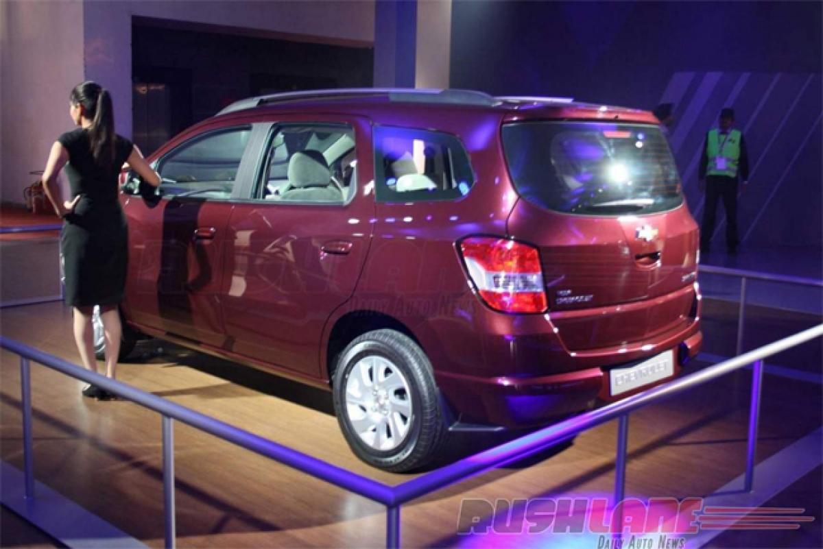 Indian auto lovers wont get to drive Chevrolet Spin MPV: General Motors