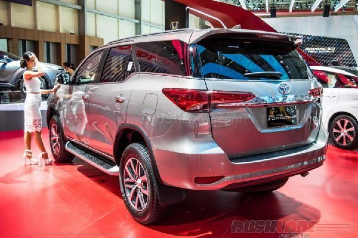 Next-gen Toyota Fortuner India heading for launch
