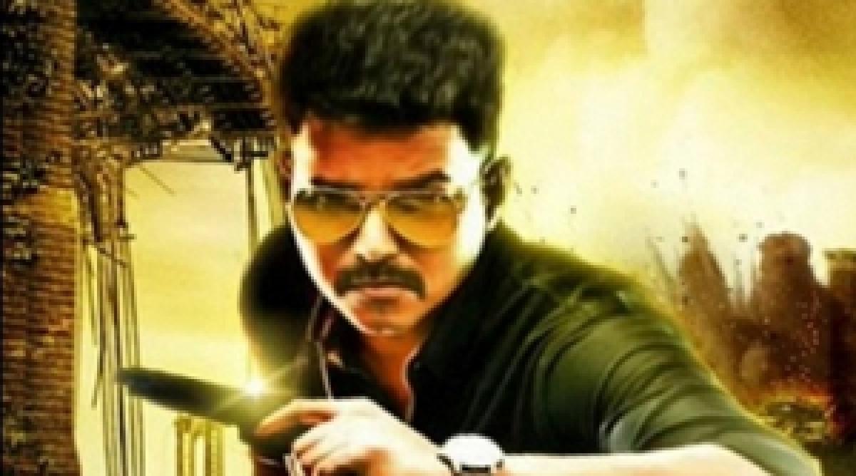 Vijays Theri titled Policeodu in Telugu