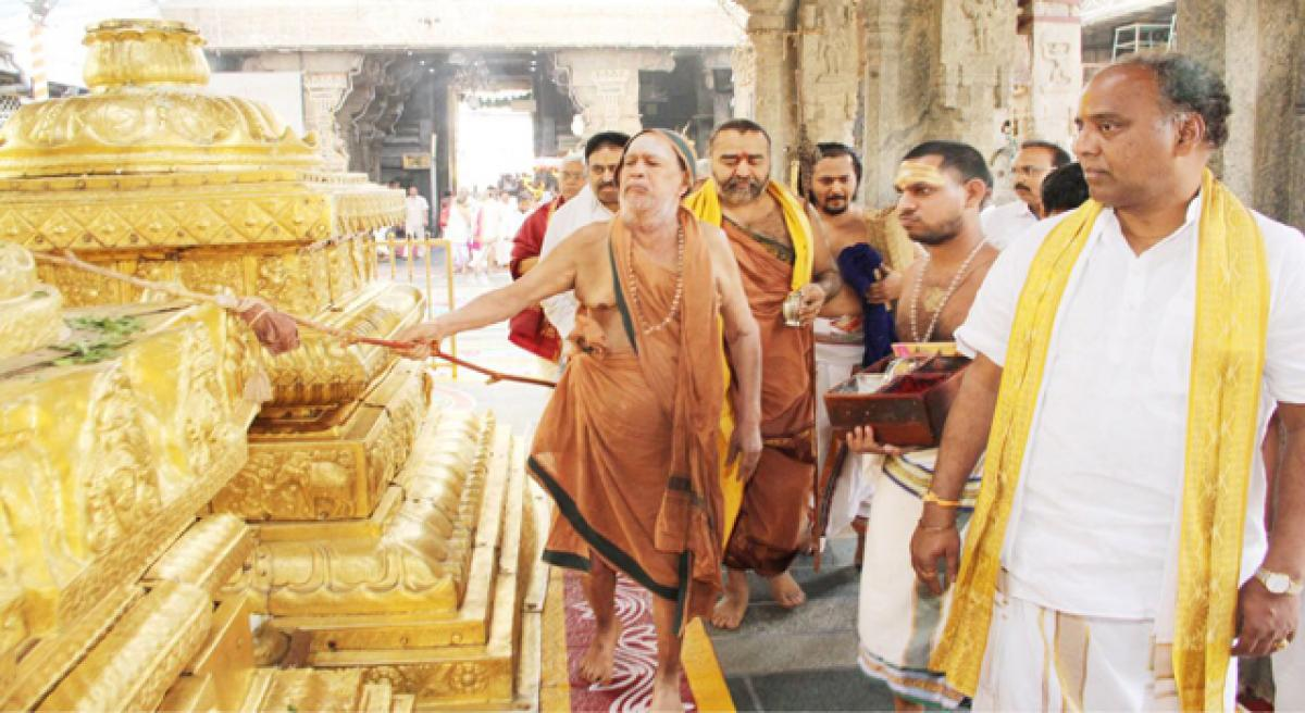 Kanchi pontiff had a special bond with Tirumala temple