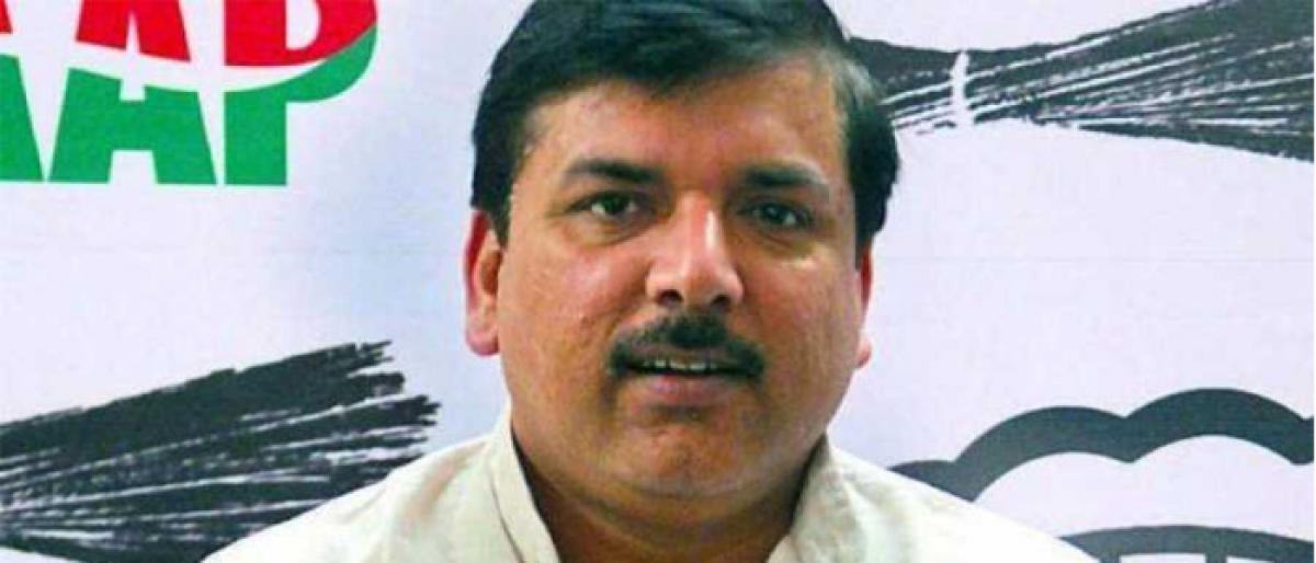 Rafale Deal : AAP MP Sanjay Singh receives court notice in defamation case