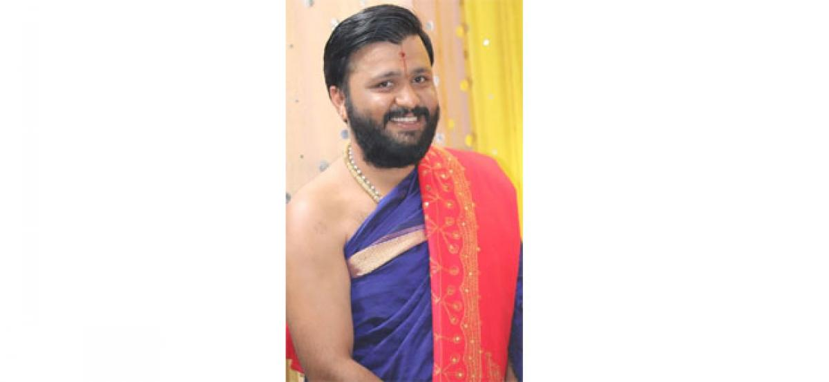 Acharya appointed youth secretary of Brahmin Society