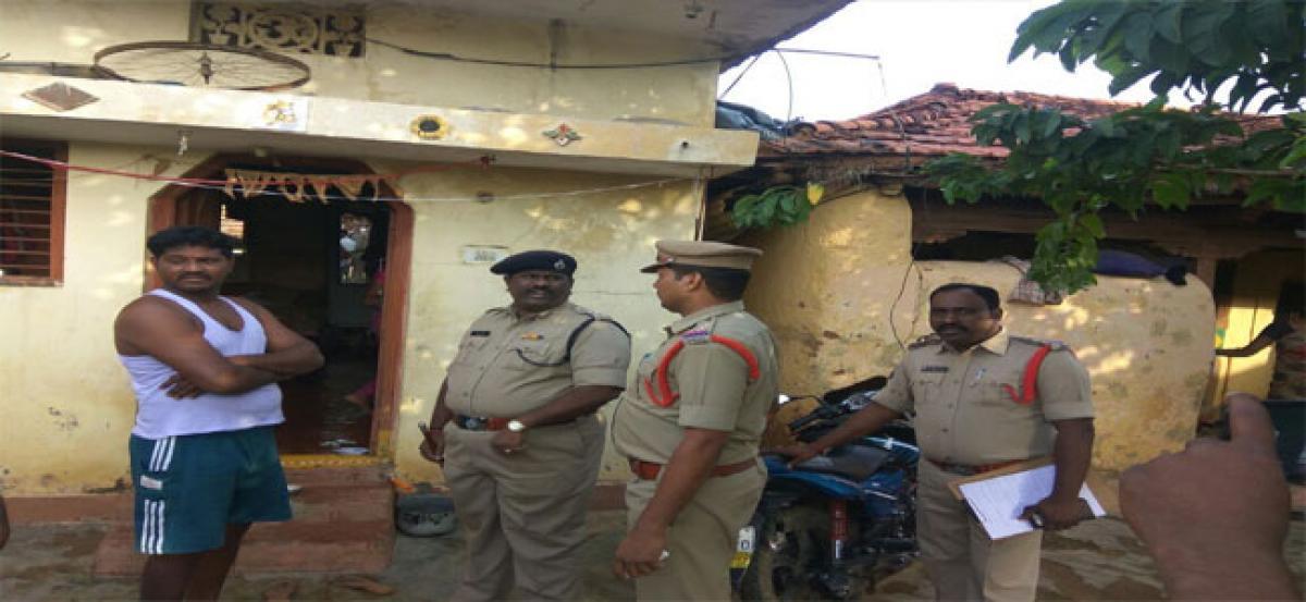 Cordon & search operations held at Gauram