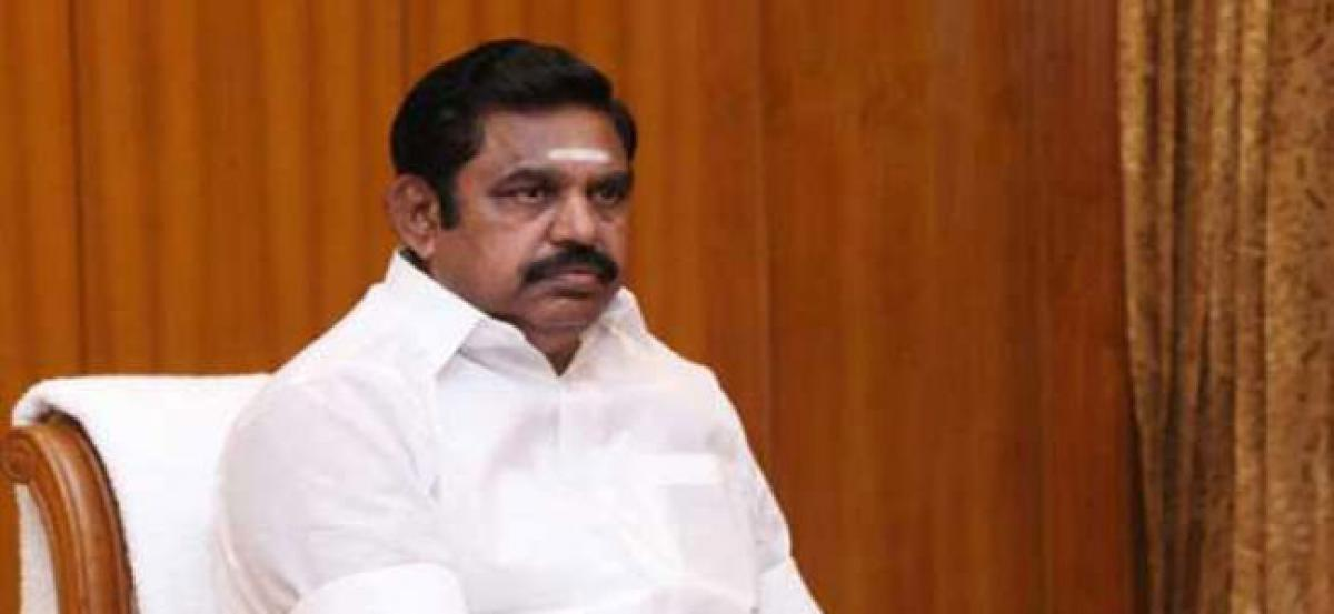 AIADMK might not back no-confidence motion against Modi govt: Palanisamy