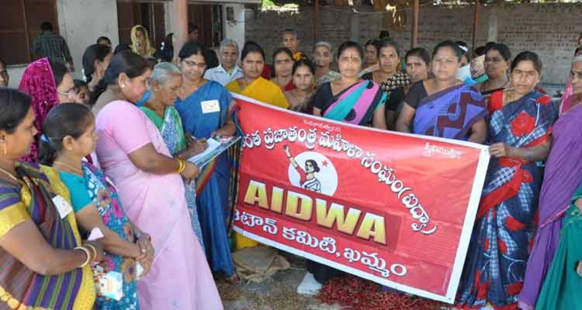 AIDWA opposes amendments to Domestic Violence Act