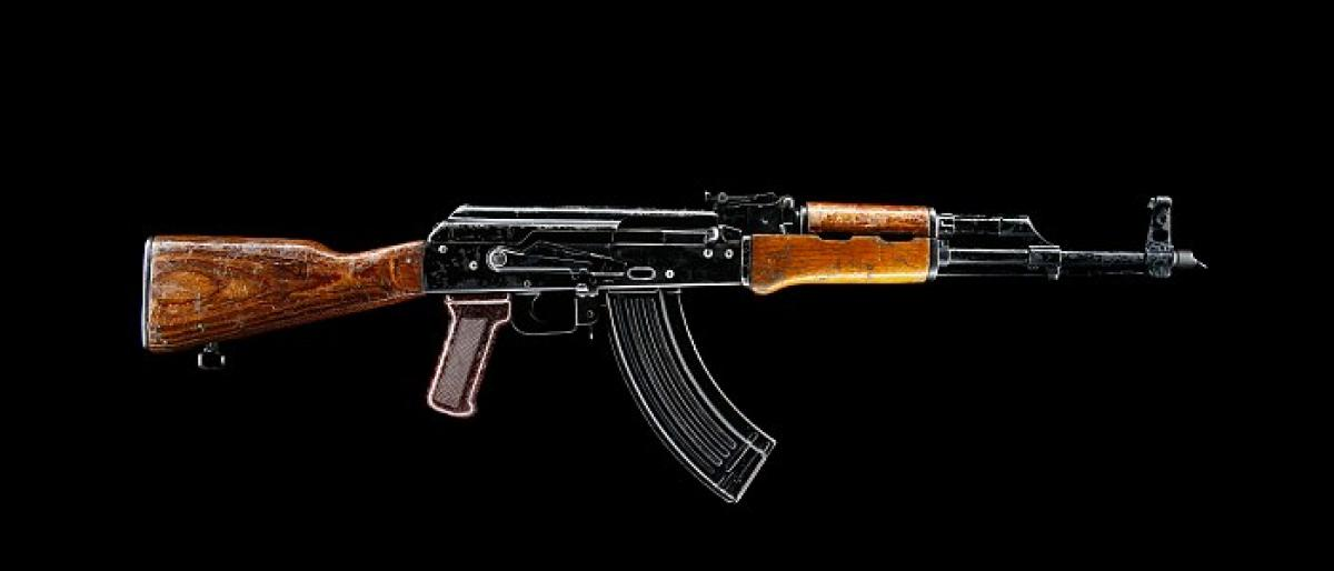 Stolen AK-47 recovered, 2 held