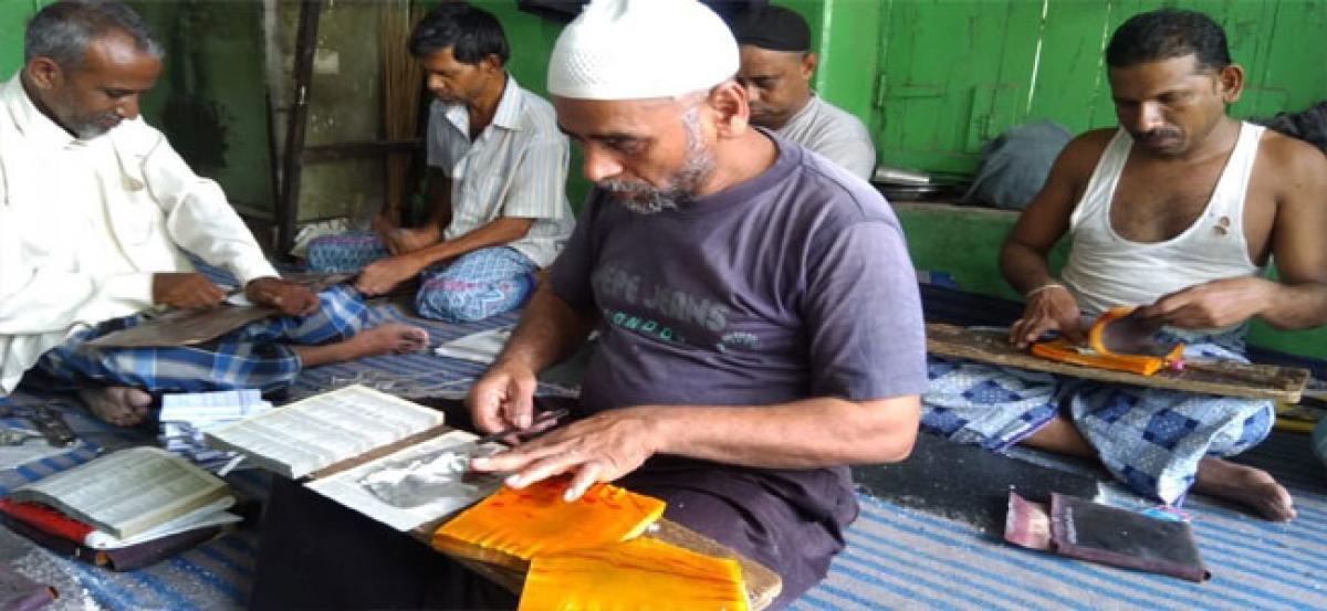 Chandi ka Warq business surviving on orders from Unani Medicine