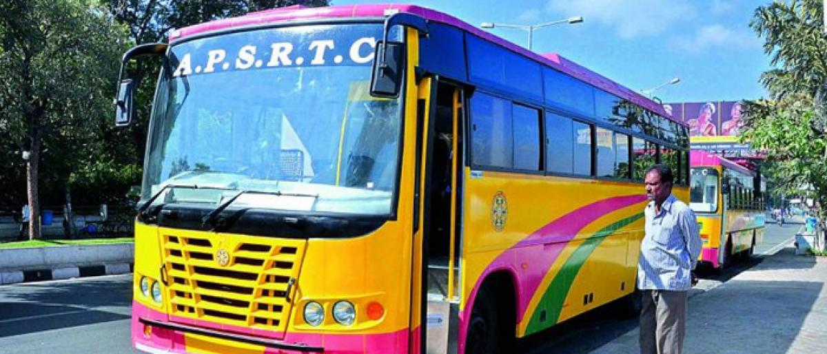 APSRTC incurs losses due to poor planning