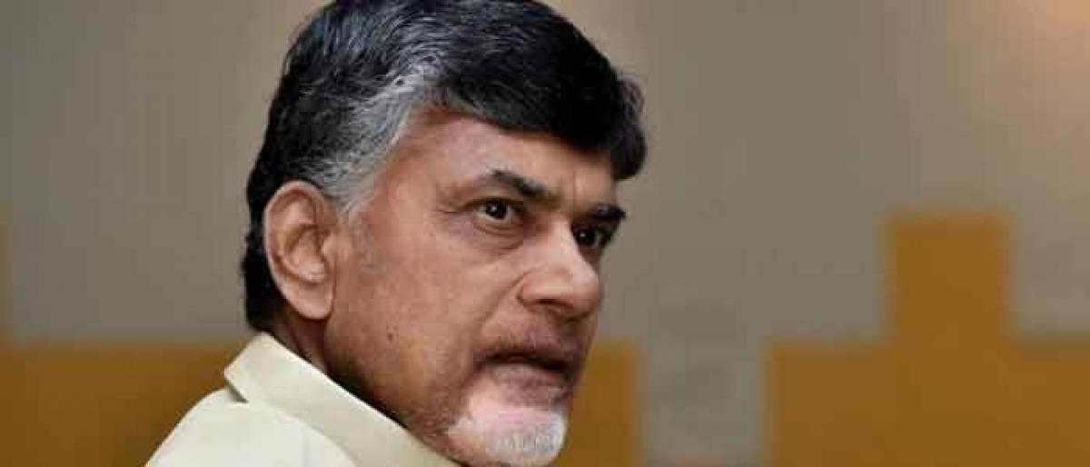 Chandrababu leaves for Dubai to garner investments