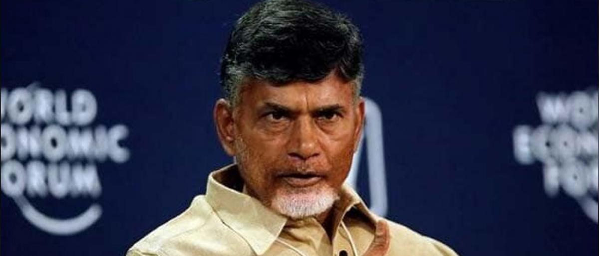AP CM Naidu hints at early polls