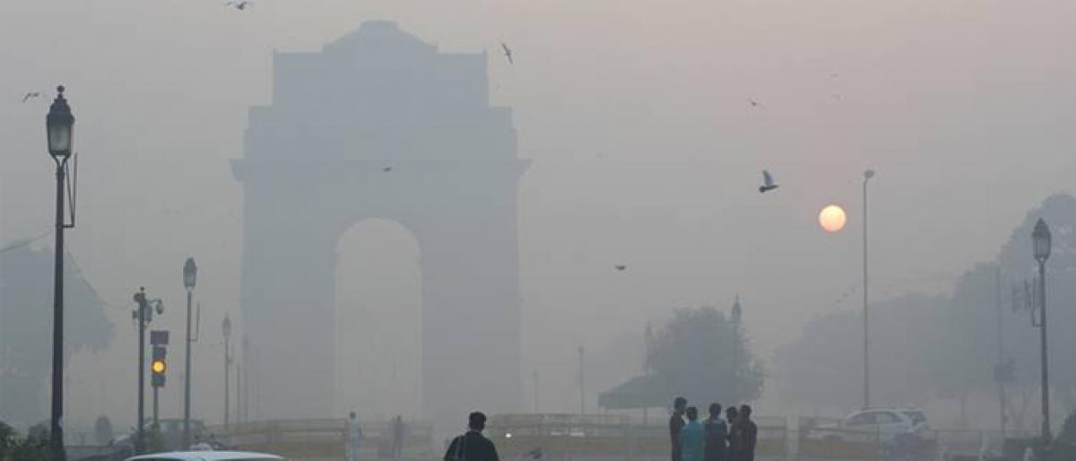 Air quality swings between poor, very poor