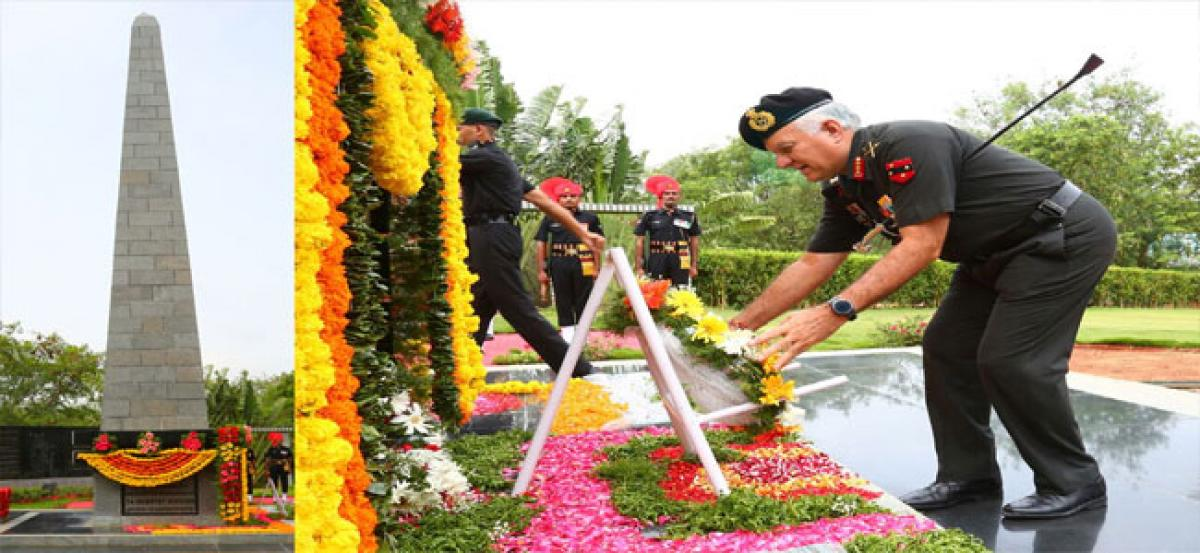 GOC Southern Command visits Secunderabad army cantonment