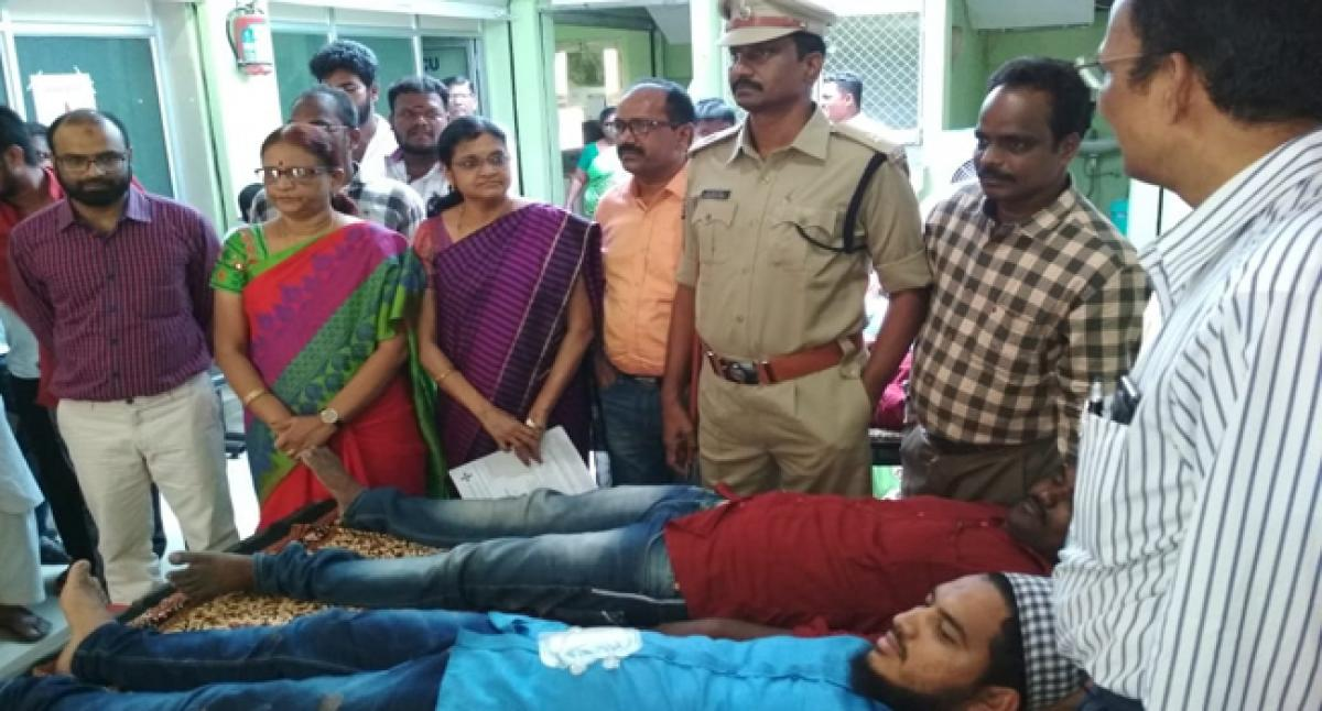 Additional Superintendent of Police stresses need to donate blood