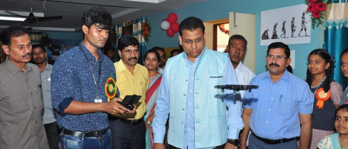 Atal tinkering labs to foster curiosity and creativity of students