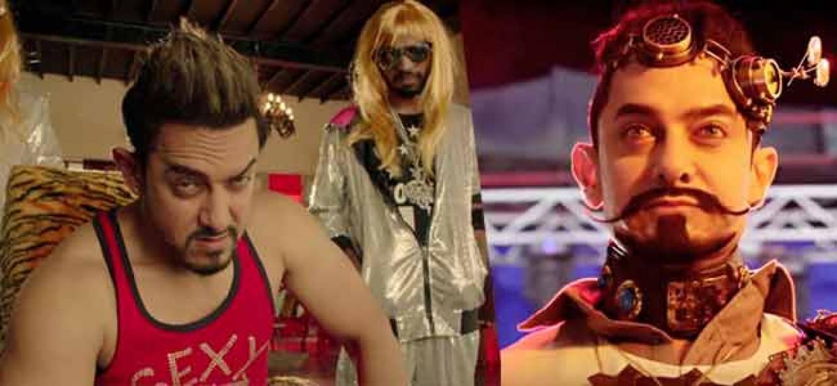 Aamir Khan unveils Secret Superstar poster