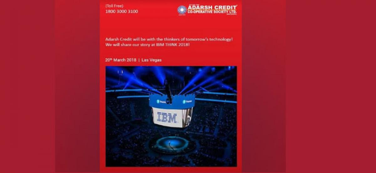 The success story of Adarsh Credit will be showcased at the Global Summit in Las Vegas