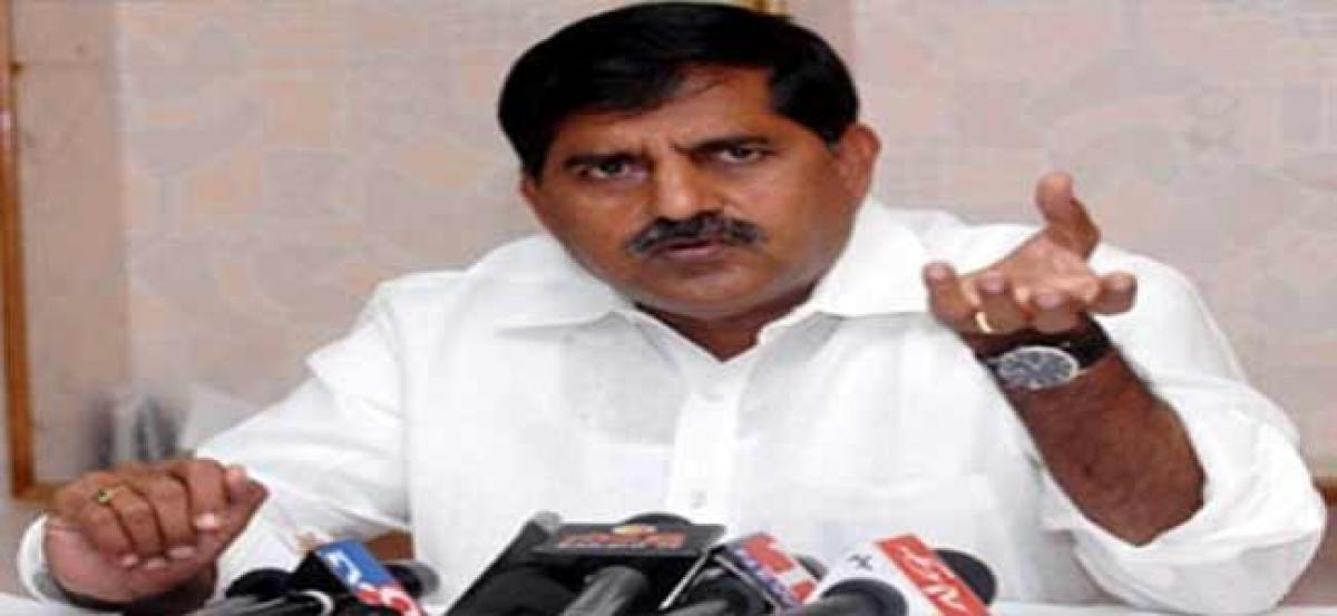Minister Adinarayana Reddy refused YSRCP accusations