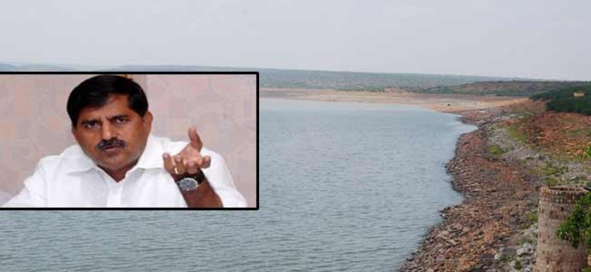 Minister released water from Mylavaram reservoir
