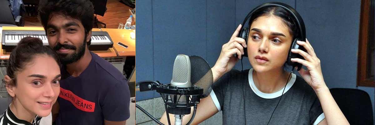 Recorded My First Tamil Song Says Aditi Rao Hydari