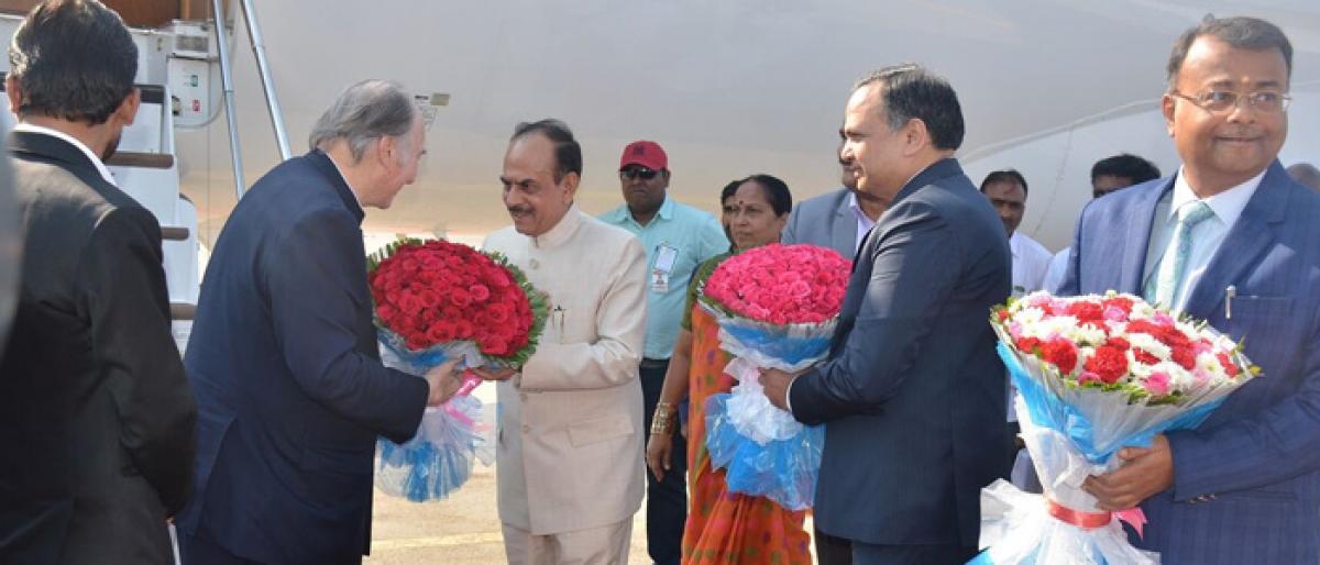 Aga Khan arrives in city for 3-day visit