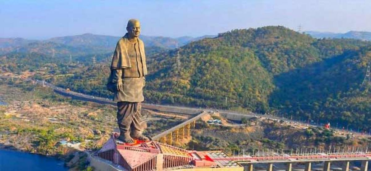 Gujarat: Statue of Unity to get rail, air connectivity