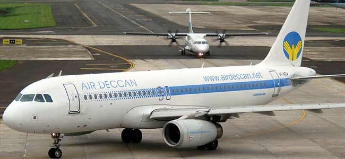 Air Deccan flies to Maharashtra towns under Udan