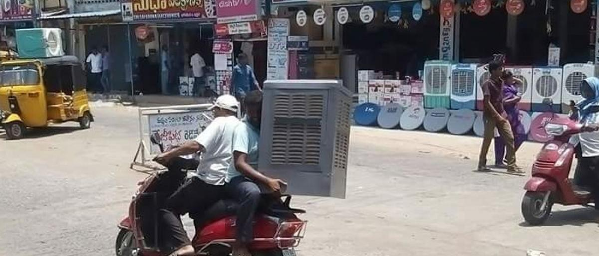 Scorching heat rises demand for air coolers