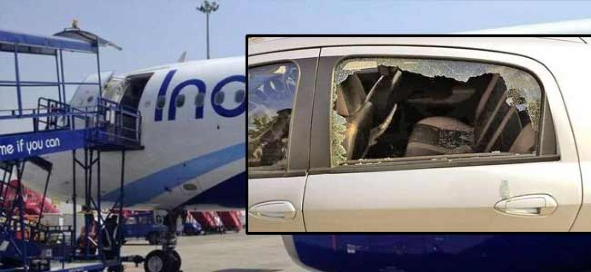 8 injured in clash between cab drivers at Mangaluru airport