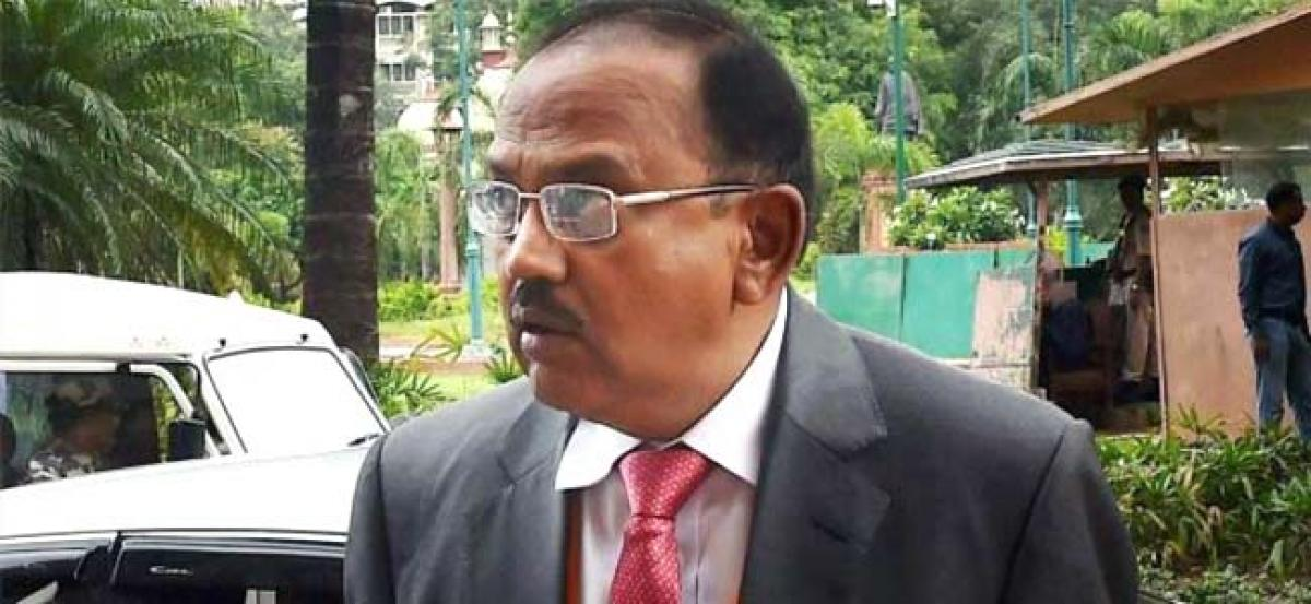 Separate constitution for J&K an aberration, says NSA Ajit Doval