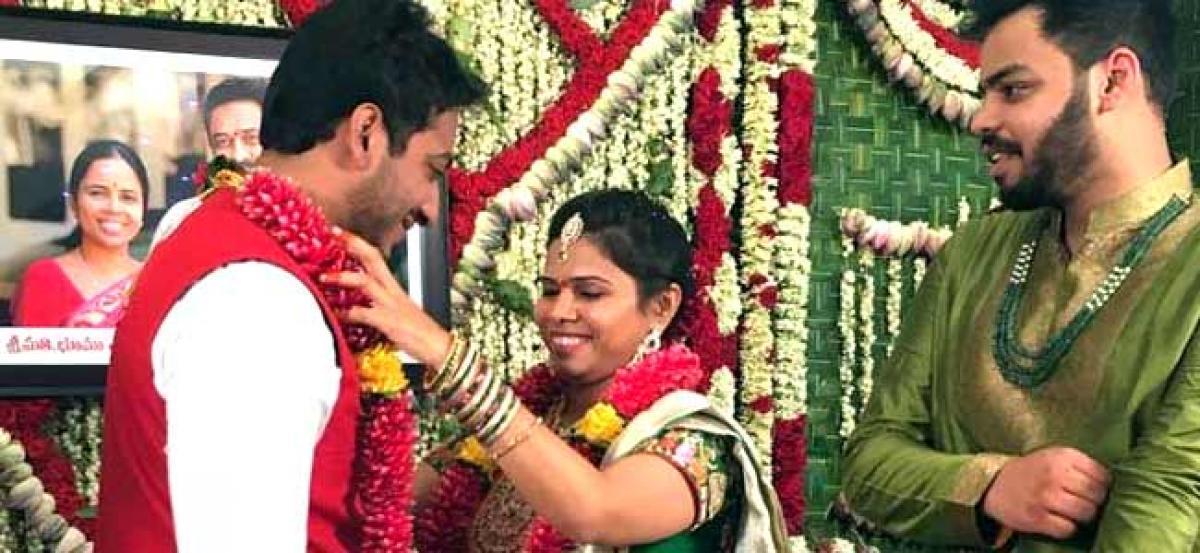 Ahead of Akhilapriyas wedding, Allagadda soaks in festivities