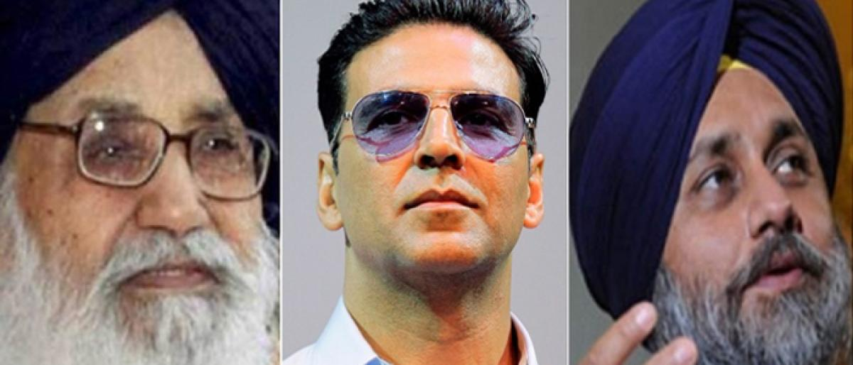 Akshay Kumar, Badal father-son duo summoned in Punjab sacrilege cases