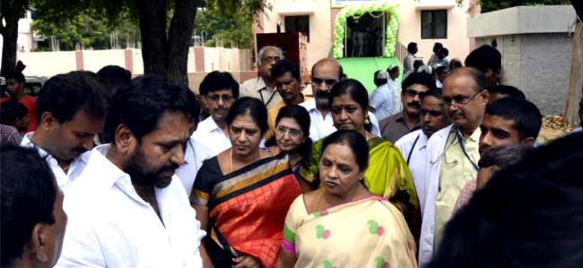 Centre and TRS government have to pay a heavy price: Minister Amarnath Reddy