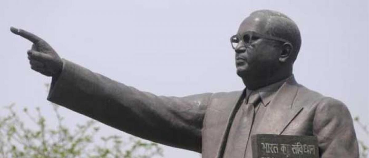 Giant Ambedkar statue project faces roadblock in Hyderabad