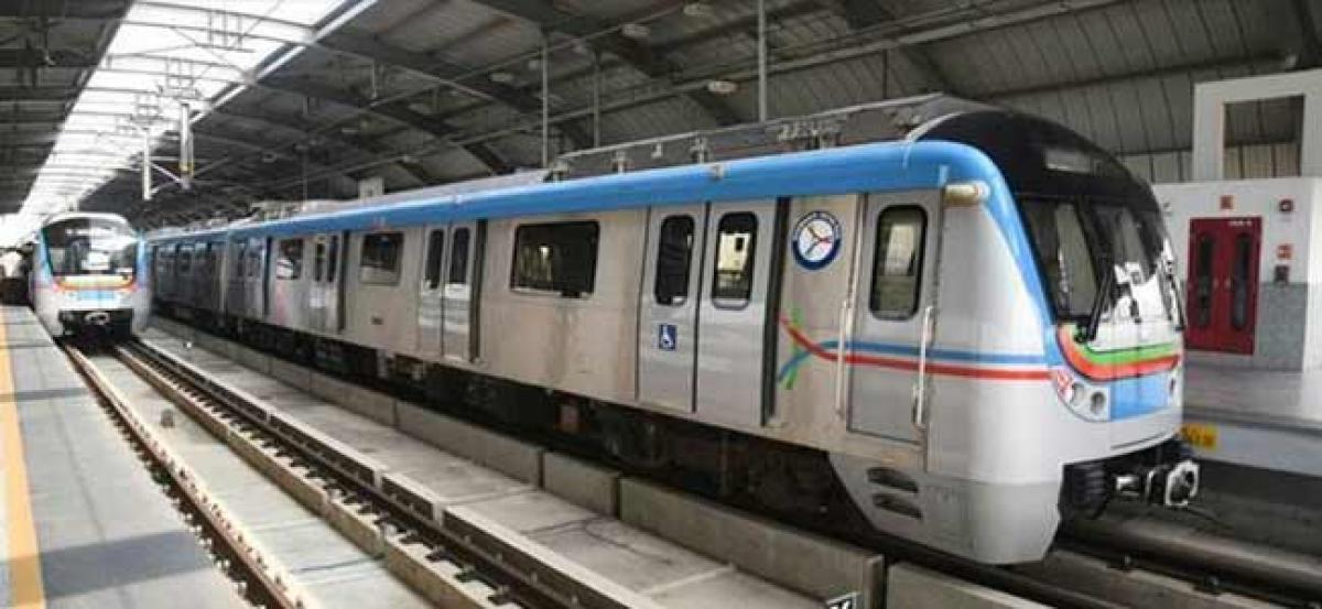 LB Nagar metro witnesses more patronage than Ameerpet