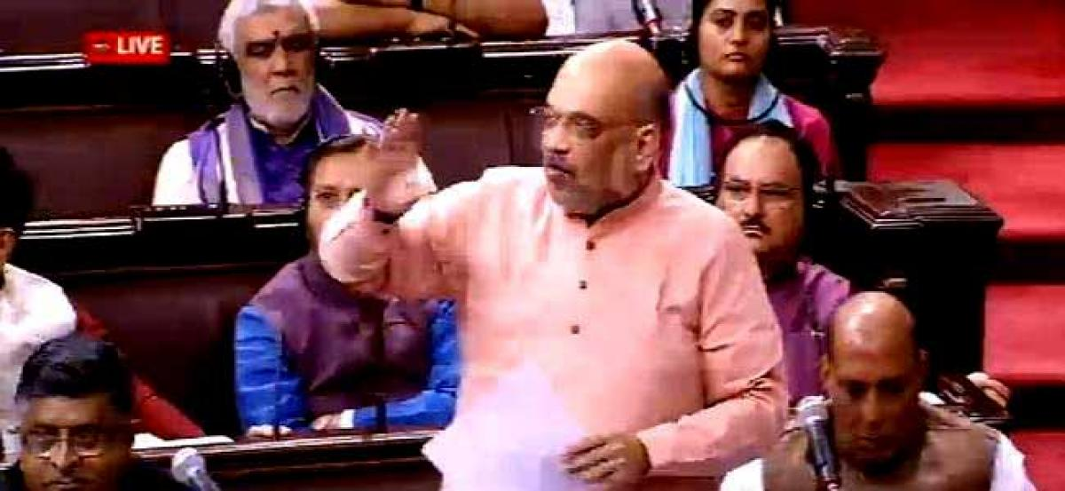 Amit Shah says Congress doesnt have the courage to identify the illegal migrants in Assam